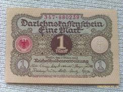 Billete Alemania. 1 Marco. 1920 - [ 3] 1918-1933 : Weimar Republic
