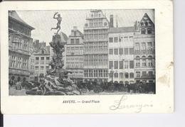 CPAS Anvers Grand'Place Antwerpen Groot Markt - Antwerpen