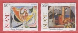 1997 ** Islande  (sans Charn., MNH, Postfrish)  Yv  821/2Mi  864/5 - 1944-... Republik