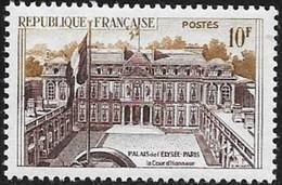 N° 1126   FRANCE  -  NEUF  -  PALAIS ELYSEE  -  1957 - Francia