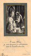 77 VAUX Le PENIL  -  Souvenir De La Première Communion De Jean HUNCKLER .Le 1 Juillet 1934 . - Religión & Esoterismo