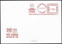 San Marino/Saint-Marin: Ema, Meter, Giochi Dei Piccoli Stati, Little States Games, Jeux Des Petits Etats - Francobolli