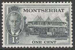 Montserrat. 1951 KGVI. 1c MH. SG 123 - Montserrat