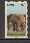 2017 Kenya NEW ISSUE! The Big 5 - May 10 - 35/- ELEPHANT SINGLE From Set Of 5 MNH  Cheaper Than Buying Whole Set!! - Elephants