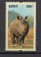 2017 Kenya NEW ISSUE! The Big 5 - May 10 - 130/- RHINO SINGLE From Set Of 5 MNH  Cheaper Than Buying Whole Set!!