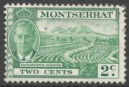 Montserrat. 1951 KGVI. 2c Used. SG 124 - Montserrat