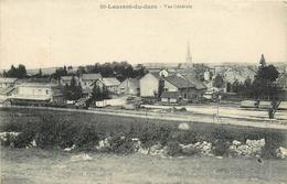 39 SAINT LAURENT DU JURA  Vue Générale Gare  2scans - Autres Communes