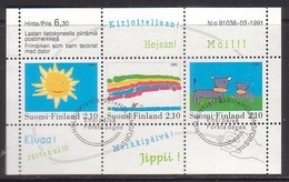 Finnland  Bl.7 , O  (3529)