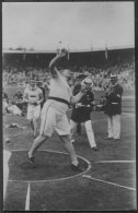 1912 Sweden Stockholm Olympics Official RP Postcard 126. MacDonald USA Shot Putt, Athletics - Olympic Games