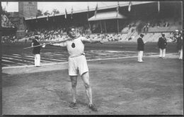 1912 Sweden Stockholm Olympics Official RP Postcard 127 Saaristo Finland Javelin - Olympic Games