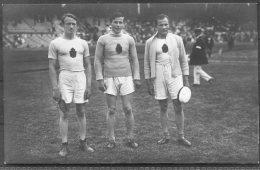 1912 Sweden Stockholm Olympics Official RP Postcard 136. Javelin Peltonen, Saaristo, Sukaniomi Finland - Olympic Games