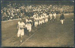 1912 Sweden Stockholm Olympics Official RP Postcard 153. Final Of The 1,500m Race. Athletics - Olympic Games