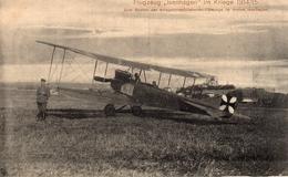 """AK Isenhagen, Flugzeug """"Isenhagen"""", Fürsorgekarte - Deutschland"""