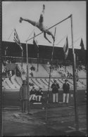 1912 Sweden Stockholm Olympics Official RP Postcard 171. Pole Vault Babcock USA Winner - Olympic Games