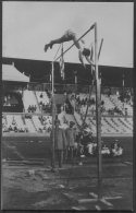 1912 Sweden Stockholm Olympics Official RP Postcard 182. M.S.Wright USA Pole Vault - Olympic Games