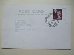GB 1979 Cover - Brough Whalsey - Shetland Postmark - Poststempel