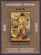 Ungarn, Weihnachten  Bl.102 A , Xx  (3386)