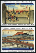 Sierra Leone - 1989 - Estampes - Hiroshige - Neufs - Arte