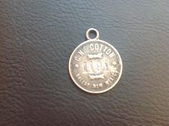 Médaille Argent ???  C.N. COTON GALLUP NEW MEXICO N 1191 - Jetons & Médailles