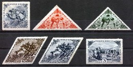 Russia , Tuva , SG 80B - 98B, 1936,15th Anniv Of  Independence , Perf 11, MH - 1923-1991 USSR