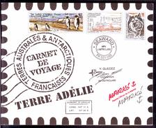 T.A.A.F. 2001 - Carnet De Voyage  - Aquarelles De Serge Marko - Neuf ** - Carnets
