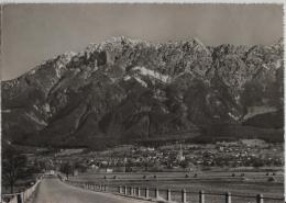 Schaan (Liechtenstein) Mit Den 3 Schwestern - Photo: P. Ospelt No. 04885 - Liechtenstein