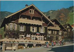 Alpenhäuser - Chalets In Triesenberg - Post, Gasthof Edelweiss, Handlung Gassner - Animee - Photo: Baron V. Falz-Fein - Liechtenstein