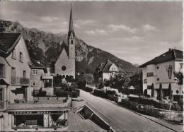 Schaan - Laurenziuskirche Mit Fürstensteig - Photo: Peter Ospelt - Liechtenstein
