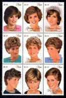 Nevis - 1997 - Diana, Princess Of Wales Commemoration - MNH - St.Kitts-et-Nevis ( 1983-...)