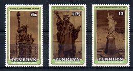 Penrhyn - 1986 - Statue Of Liberty Centenary - MNH - Penrhyn