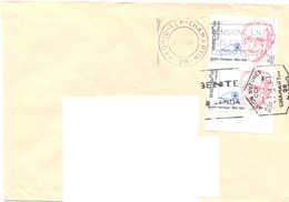 2001. Spain, The Letter Sent By Ordinary Post To Moldova - 1931-Heute: 2. Rep. - ... Juan Carlos I