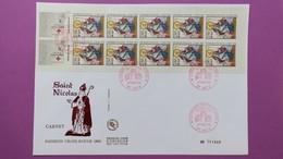 France FDC   Format (24,5x16)  TBE  De  2853a Au Profit De La Croix Rouge  Série N° 1544 Du 27/11/1993 - FDC