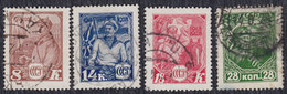 Russia USSR 1928 Red Army, Used (o) Michel 354-357