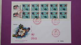 France FDC   Format (24,5x16)  TBE  De  2783 Carnet  Au Profit De La Croix Rouge  Série N° 924 Du 28/11/1992 - FDC