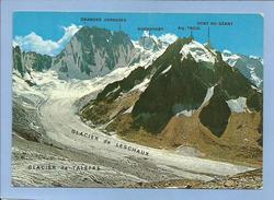 Chamonix-Mont-Blanc (74) Refuge Du Couvercle Panorama Sur Le Massif Des Grandes Jorasses Rochefort Dent Du Géant 2scans - Chamonix-Mont-Blanc