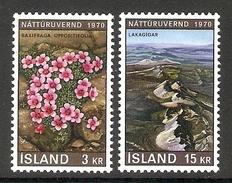 003939 Iceland 1970 Nature Set MNH - Nuovi