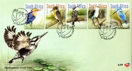 South Africa - 2016 Kingfishers FDC - Vögel
