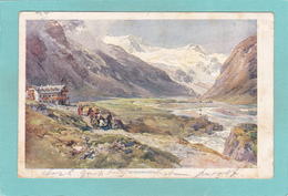 Old Postcard Of Moserboden, Switzerland,R39. - Autres