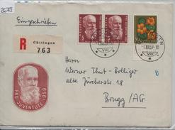 1959 Pro Juventute J178 J181/687 690 FDC - Stempel: Güttingen Nach Brugg 1.12 - Pro Juventute