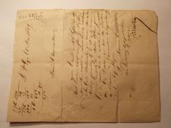 Marcophilie  Cachet Lettre Obliteration Timbre - St Leger (47) Cf Description 1849 (964) - Marcophilie (Lettres)
