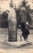 VERDUN - Obus Allemand De 420 Mm - Oorlog 1914-18