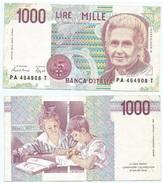 Italia - Italy 1.000 Lire 1990 Pick 114.a Ref 280 - [ 2] 1946-… : República