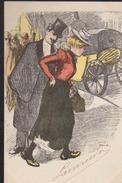 CPA:Steinlen:Série Faubouriennes - Autres Illustrateurs