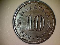 Malaysia 10 Sen 1967 - Malaysie