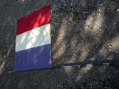 DRAPEAU DE RÉSISTANCE/FFI/MAQUIS/FRANÇAIS/Seconde Guerre Mondiale/libération/WW1/WW2 - Flags