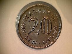 Malaysia 20 Sen 1981 - Malaysie