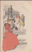 CPA:Steinlen:Série Les Faubouriennes - Autres Illustrateurs