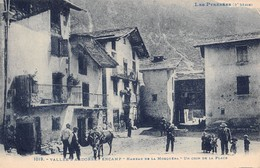 "D5806 ""VALLEE D'ANDORRE ENCAMP - HAMEAU DE LA MOSQUERA - UN COIN DE LA PLACE"" ANIMATA. CART NON SPED - Andorra"