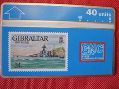 Télécarte De Gibraltar - Gibraltar