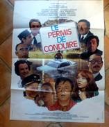 Affiche De Cinéma - Le PERMIS DE CONDUIRE - 60x80cm - Jacque VILFRID - Other Collections